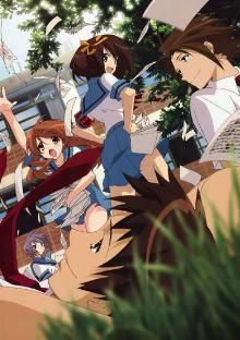 The Melancholy of Haruhi Suzumiya cover image
